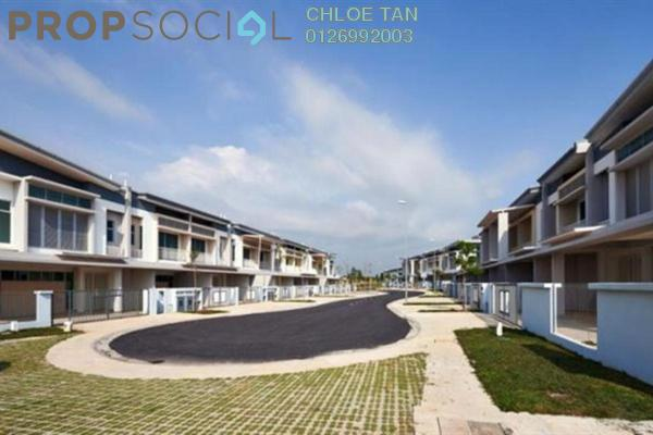 For Sale Terrace at Chimes, Bandar Rimbayu Leasehold Unfurnished 4R/3B 1.1m