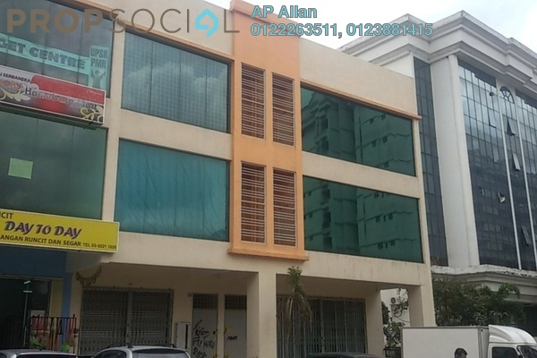 For Sale Shop at Fraser Business Park, Sungai Besi Freehold  0R/0B 1.9百万