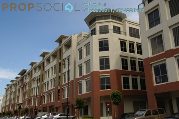 For Sale Office at Merchant Square, Tropicana Leasehold Semi Furnished 0R/0B 680k