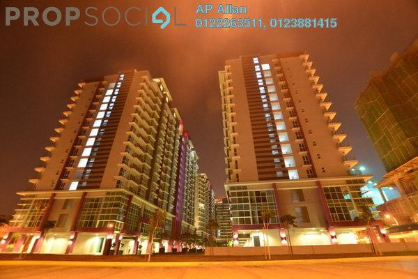 For Rent Condominium at Pacific Place, Ara Damansara Leasehold Semi Furnished 3R/3B 2.3k