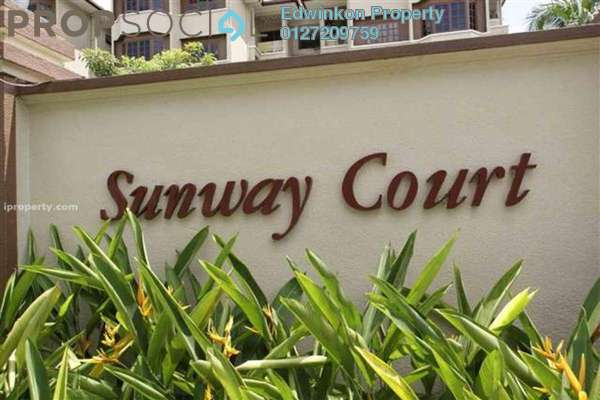 For Sale Apartment at Sunway Court, Bandar Sunway Leasehold Unfurnished 3R/2B 405k
