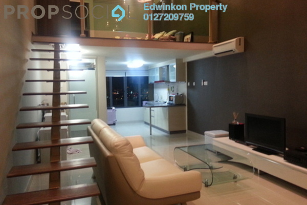 For Rent Condominium at Subang SoHo, Subang Jaya Freehold Fully Furnished 0R/1B 1.8k