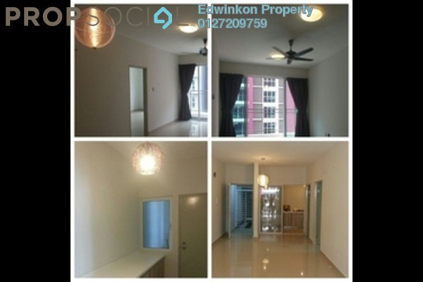 For Rent Condominium at Pacific Place, Ara Damansara Leasehold Semi Furnished 2R/2B 1.5k