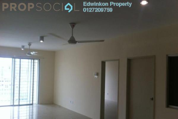 For Sale Condominium at Platinum Hill PV2, Setapak Freehold Semi Furnished 3R/2B 610k