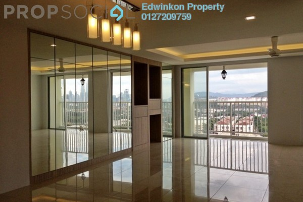For Rent Condominium at Platinum Lake PV20, Setapak Leasehold Semi Furnished 3R/2B 1.7k