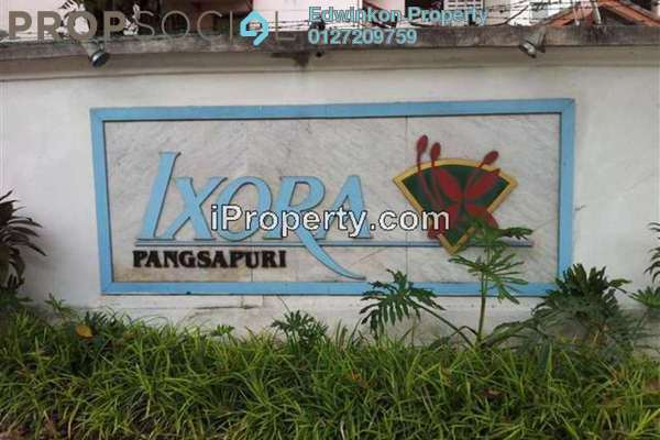 For Rent Condominium at Ixora Apartment, Pudu Leasehold Fully Furnished 3R/2B 1.9k