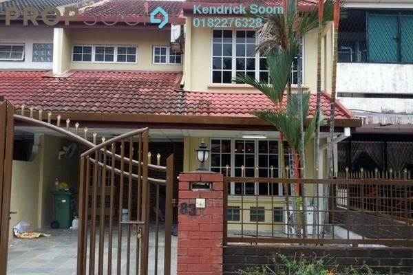 For Rent Townhouse at The Residence, TTDI Freehold Semi Furnished 5R/3B 3k