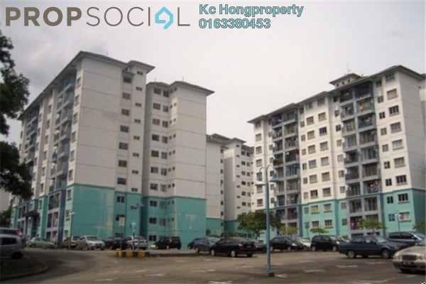 For Rent Apartment at Akasia, Petaling Jaya Leasehold Unfurnished 3R/2B 1k