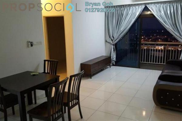 For Rent Serviced Residence at Sky Suites @ Meldrum Hills, Johor Bahru Freehold Fully Furnished 2R/2B 1.3k