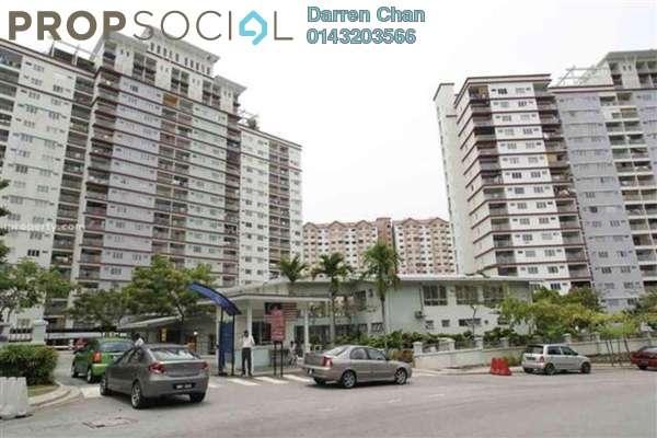 For Rent Condominium at Vista Amani, Bandar Sri Permaisuri Leasehold Fully Furnished 3R/2B 1.3k