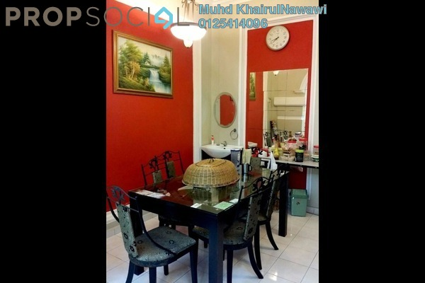 For Sale Terrace at Bukit Bandaraya, Shah Alam Leasehold Semi Furnished 4R/3B 615k