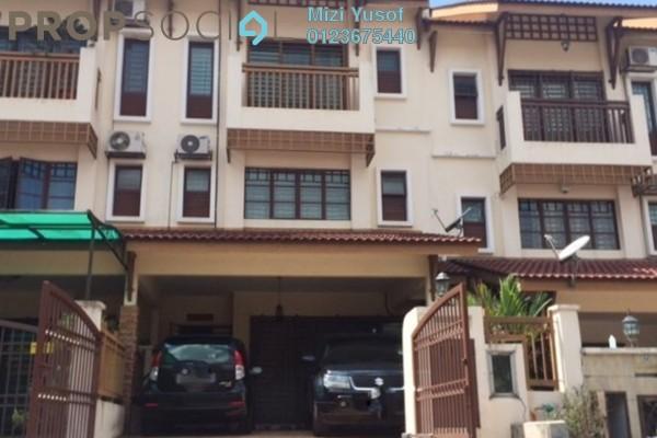 For Sale Terrace at Nilam Terraces, Bandar Bukit Puchong Freehold Semi Furnished 5R/4B 850k