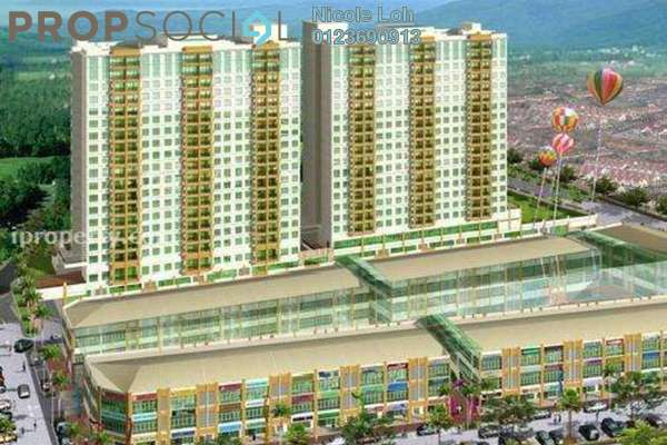 For Sale Condominium at Connaught Avenue, Cheras Leasehold Fully Furnished 3R/2B 460k