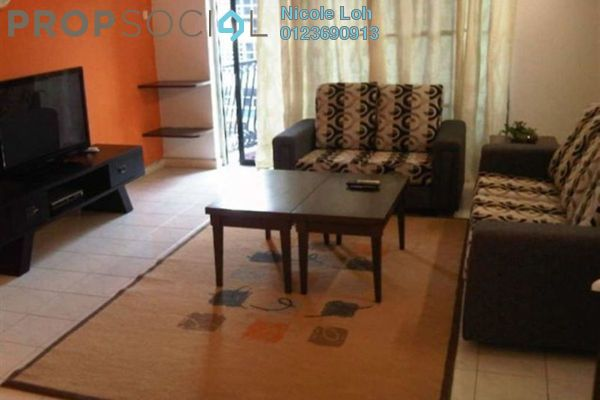 For Rent Condominium at Axis Residence, Pandan Indah Leasehold Fully Furnished 2R/2B 1.9k