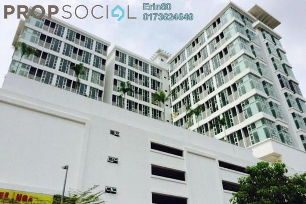 For Rent SoHo/Studio at Centro, Shah Alam Leasehold Semi Furnished 1R/2B 1.5k