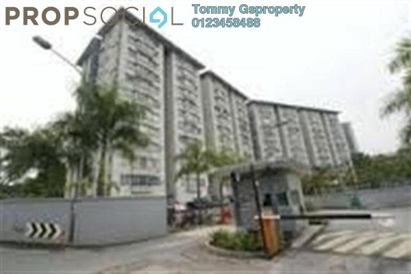 For Rent Condominium at Alpha Villa, Wangsa Maju Leasehold Semi Furnished 3R/2B 1.8k