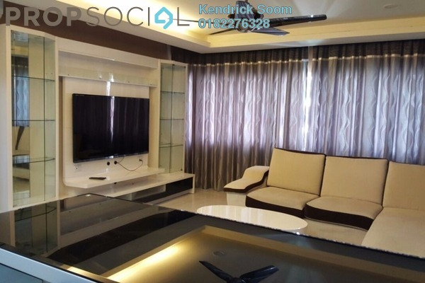 For Rent Condominium at Koi Kinrara, Bandar Puchong Jaya Freehold Fully Furnished 3R/3B 1.8k