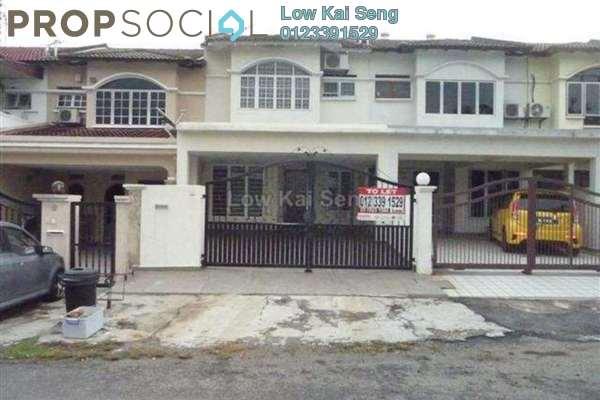 For Rent Terrace at Taman Bukit Mayang Emas, Kelana Jaya Freehold Semi Furnished 4R/3B 2.3k