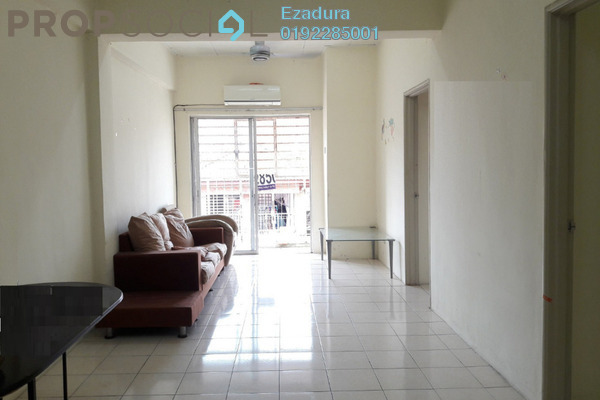 For Sale Apartment at Red Ruby Apartment, Seri Kembangan Freehold Semi Furnished 3R/2B 209k