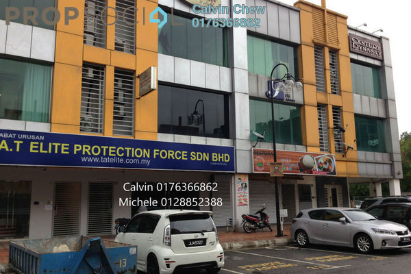 For Rent Shop at Kuchai Business Park, Kuchai Lama Freehold Semi Furnished 1R/2B 3k