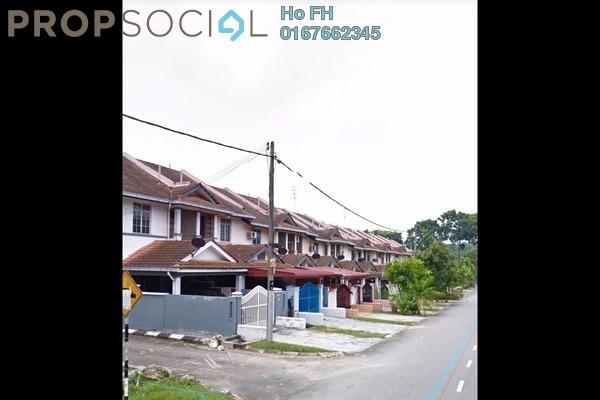 For Sale Terrace at Taman Scientex, Pasir Gudang Leasehold Semi Furnished 4R/3B 248k