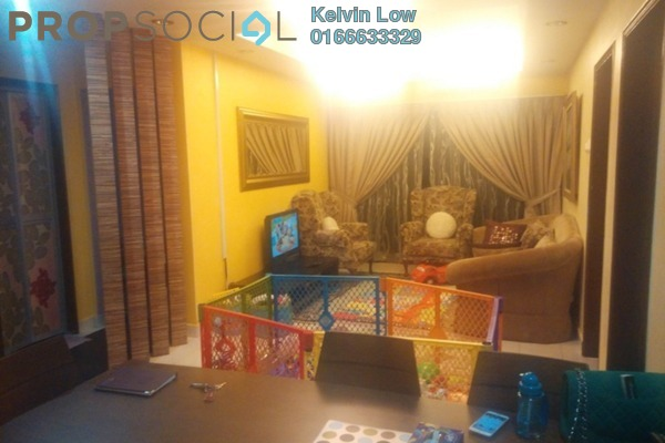 For Sale Condominium at Palm Spring, Kota Damansara Leasehold Semi Furnished 3R/2B 500k