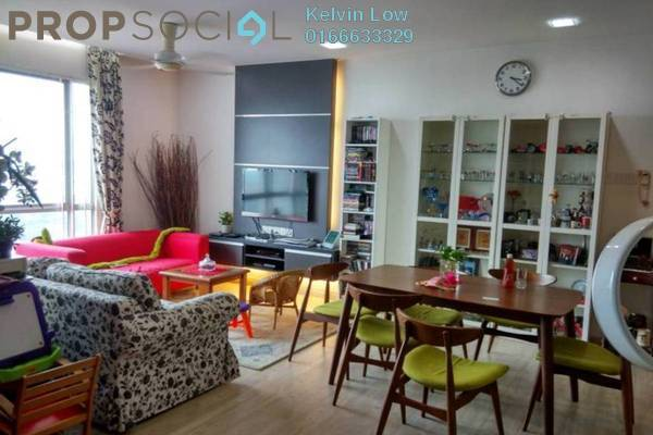 For Sale Condominium at Casa Indah 2, Tropicana Leasehold Fully Furnished 2R/2B 730k