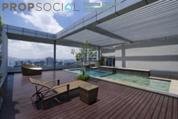 For Rent Condominium at Dua Residency, KLCC Freehold Semi Furnished 4R/4B 15k