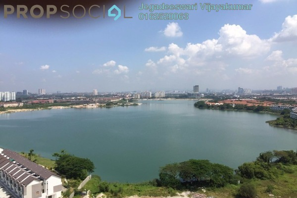For Rent Condominium at The Wharf, Puchong Leasehold Semi Furnished 3R/2B 1.4k