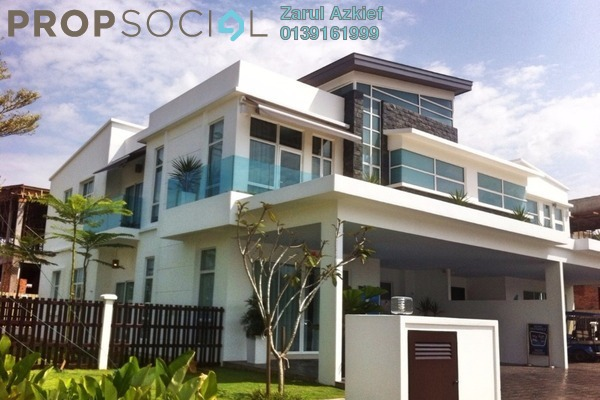 For Sale Semi-Detached at Perdana Lakeview East, Cyberjaya Freehold Unfurnished 6R/6B 1.9m