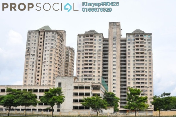 For Sale Condominium at Casa Magna, Kepong Leasehold Semi Furnished 3R/2B 395k