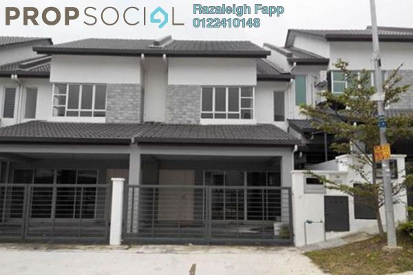 For Sale Terrace at Bandar Nusa Rhu, Shah Alam Leasehold Unfurnished 4R/3B 620k