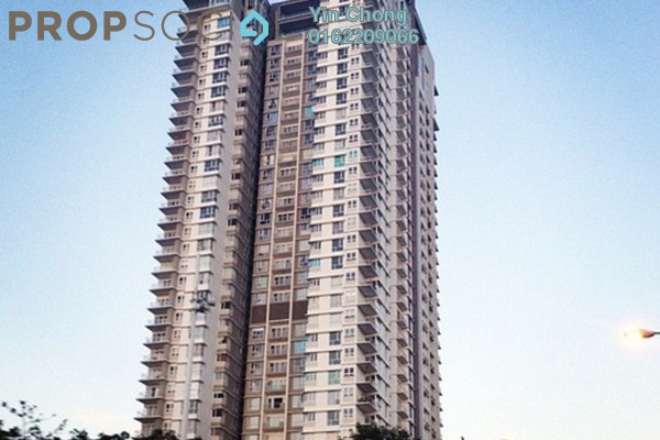 For Rent Condominium at The Northshore Gardens, Desa ParkCity Freehold Fully Furnished 2R/1B 3k