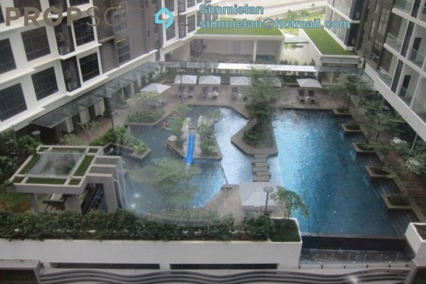 For Rent Condominium at Summer Suites, KLCC Leasehold Fully Furnished 0R/1B 2.3k