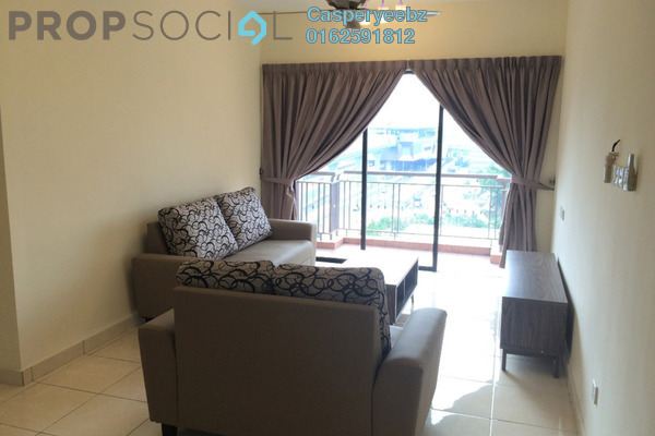 For Rent Condominium at Casa Indah 1, Tropicana Leasehold Semi Furnished 3R/2B 2k