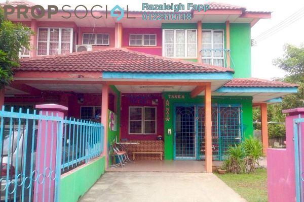 For Sale Terrace at PU8, Bandar Puchong Utama Freehold Semi Furnished 4R/3B 800k