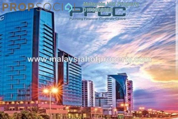 For Rent Office at PFCC, Bandar Puteri Puchong Freehold Semi Furnished 1R/1B 4.52k