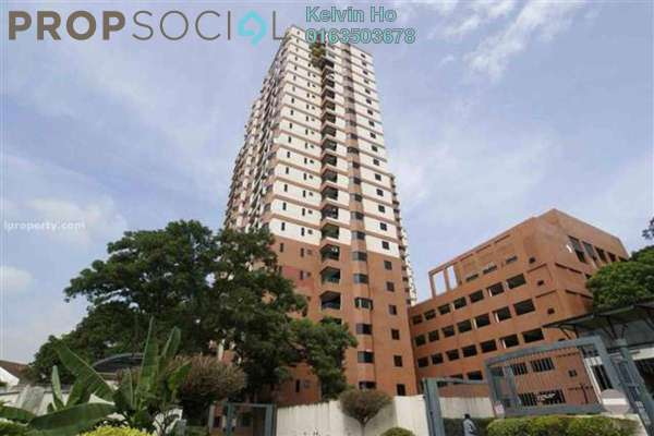 For Rent Condominium at Maxwell Towers, Gasing Heights Freehold Unfurnished 3R/3B 2.1k