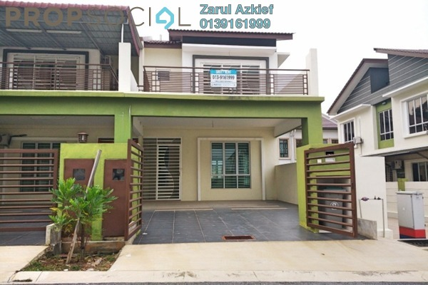 For Sale Terrace at Citra Hill 2, Mantin Freehold Unfurnished 4R/4B 520k