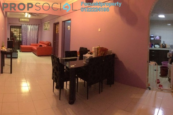 For Sale Condominium at Ixora Apartment, Kepong Leasehold Semi Furnished 3R/2B 310k