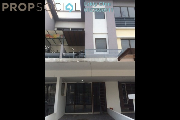 For Sale Townhouse at Odora Parkhomes, 16 Sierra Leasehold Semi Furnished 3R/3B 648k
