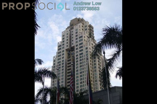 For Sale Condominium at The CapSquare Residences, Dang Wangi Freehold Fully Furnished 2R/3B 998k