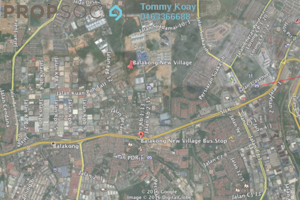For Sale Land at Kampung Baru Balakong, Balakong Leasehold Unfurnished 1R/1B 5.7m