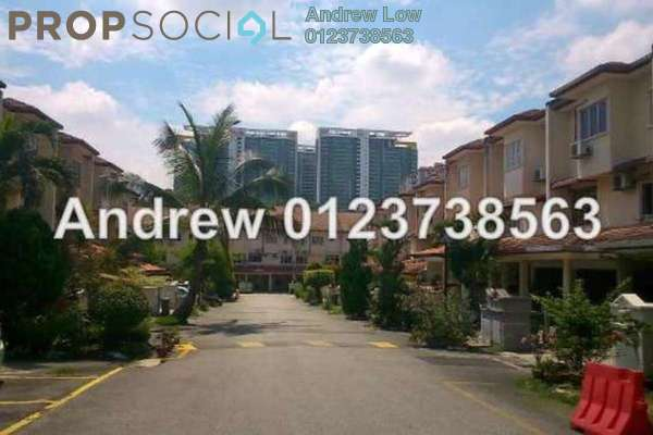 For Sale Townhouse at Bukit OUG Townhouse, Bukit Jalil Freehold Fully Furnished 3R/3B 650k