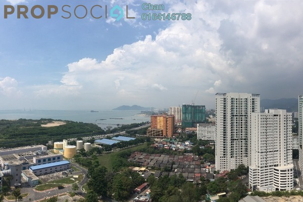 For Sale Condominium at The H2O, Jelutong Freehold Unfurnished 4R/3B 800k