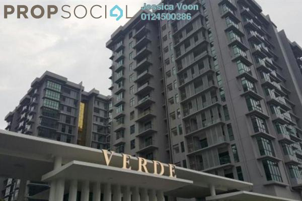 For Sale Serviced Residence at Verde, Ara Damansara Freehold Semi Furnished 3R/2B 900k