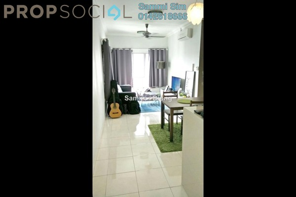 For Sale Condominium at Metropolitan Square, Damansara Perdana Leasehold Semi Furnished 3R/2B 545k