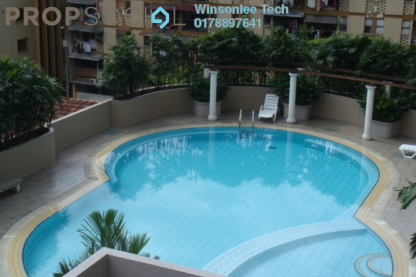 For Rent Condominium at Angkasa Impian 1, Bukit Ceylon Leasehold Fully Furnished 1R/1B 2.2k