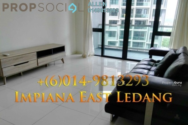 For Rent Condominium at Impiana Residences, Iskandar Puteri (Nusajaya) Freehold Fully Furnished 2R/2B 2.1k