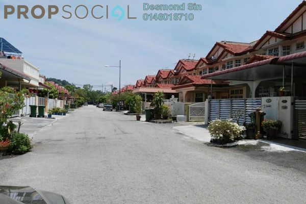 For Sale Terrace at Kampung Sungai Tiram, Bayan Lepas Freehold Fully Furnished 4R/3B 980k